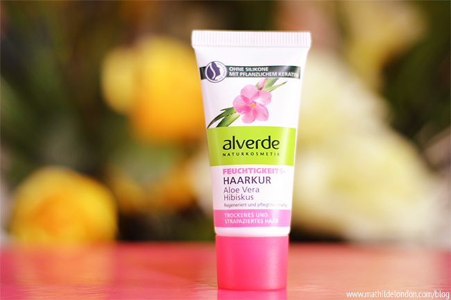 Alverde aloe vera hibiscus conditioner