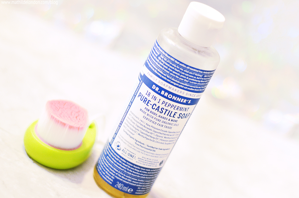dr bronners soap peppermint oil avis